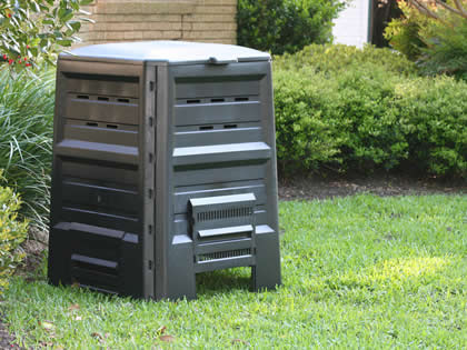 Rectangular compost bin