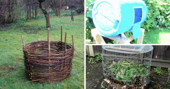 7 Easy Diy Composter Plans To Build Your Own Compost Bin